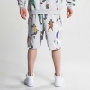K1X Superhero Sweat Shorts Light Grey Heather
