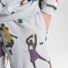 K1X Superhero Sweat Shorts Light Grey Heather