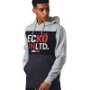Ecko Unltd Course Over Head Hood Grey