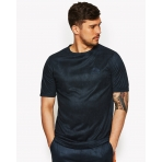 Ellesse Italia Batana Suede T-Shirt India Ink