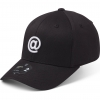 State Of Wow Šiltovka At Sign Baseball Cap - Crown 2 - Black/White - Strapback