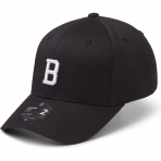 StateOf Wow Šiltovka Bravo Baseball Cap - Crown 2 - Black/White - Strapback