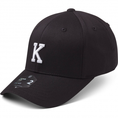 StateOf Wow Šiltovka Kilo Baseball Cap - Crown 2 - Black/White - Strapback