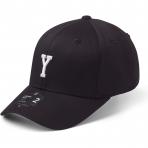 StateOf Wow Šiltovka Yankee Baseball Cap - Crown 2 - Black/White - Strapback