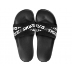 Slydes Malibu Elastic Cross Black