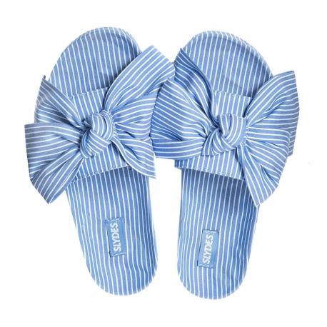 Slydes Brighton Fabric Knot Blue