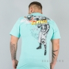 Mafia & Crime Full Contact Sports Shirt Azure