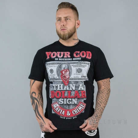 Mafia & Crime Your God Shirt Black