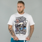 Mafia & Crime Mc Comic Worldwide Shirt White
