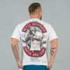 Mafia & Crime Never Surrender Shirt White