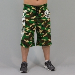 Mafia & Crime Mc Bandana Short Camo