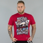 Mafia & Crime Mc Comic Worldwide Shirt Red