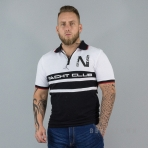 GEOGRAPHICAL NORWAY KAILS POLOSHIRT BLACK / WHITE