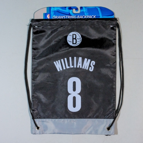 NBA Brooklyn Nets Williams D.Nr.8 Drawstring Backpack