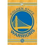 NBA Poster Golden State Wariors logo