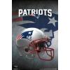 NFL Poster New England Patriots Helmet
