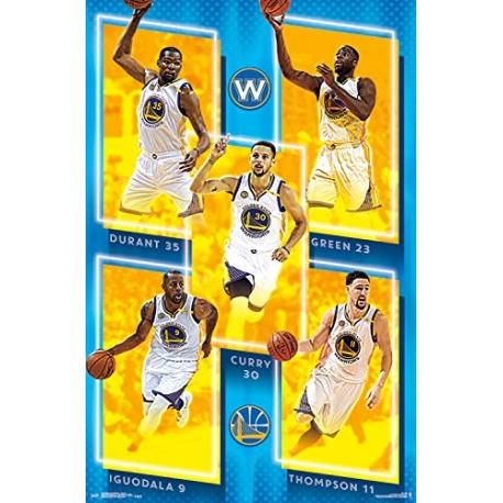 NBA Poster Golden State Wariors team