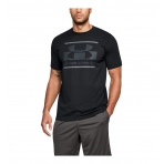 Under Armour Blocked Sportstyle Graphic T-Shirt Black