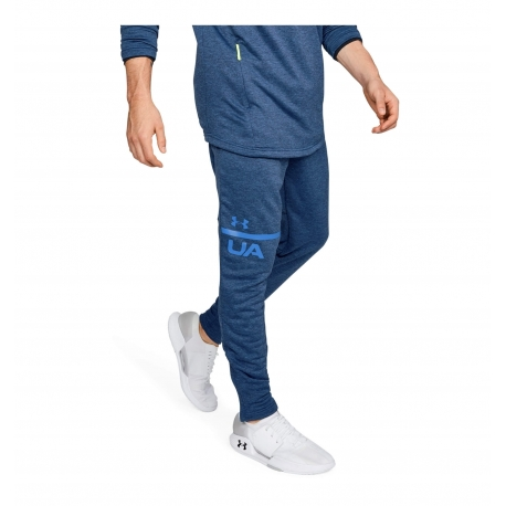 Under Armour Mk-1 Terry Tapered Pants Moroccan Blue