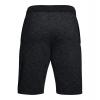 Under Armour Baseline Fleece Basketball Shorts Black