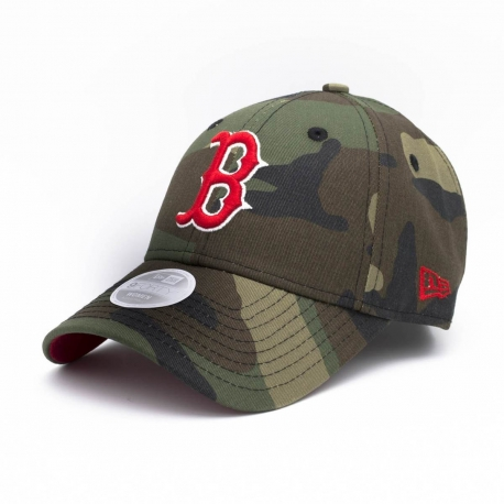 New Era Šiltovka Mlb New Era 940W Camo Team Wmns Boston Red Sox
