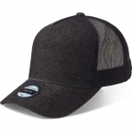 State Of Wow Šiltovka Reed Denim Baseball Trucker Black Denim