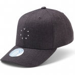 State Of Wow Šiltovka Ground Baseball Cap Dk Grey Mel
