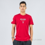 New Era MLB Tričko Team Apparel Tee Boston Red Sox - Scarlet