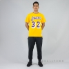 MITCHELL & NESS NBA TRADITIONAL TEE LA LAKERS / MAGIC JOHNSON No. 32 YELLOW