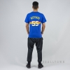 MITCHELL & NESS NBA TRADITIONAL TEE DENVER NUGGETS / DIKEMBE MUTOMBO No. 55 ROYAL