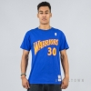 MITCHELL & NESS NBA TRADITIONAL TEE GOLDEN STATE WARRIORS / STEPHEN CURRY No. 30 ROYAL