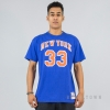MITCHELL & NESS NBA TRADITIONAL TEE NEW YORK KNICKS / PATRICK EWING No. 33 ROYAL