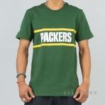 New Era NFL Tričko F O R 90S Fan Tee Green Bay Packers - Green