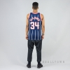 MITCHELL & NESS NBA SWINGMAN JERSEYS HOUSTON ROCKETS 1996-97 / HAKEEM OLAJUWON No. 35 NAVY/RED