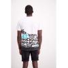 Shine Originals Graffiti print tee S/S 2-45678 White