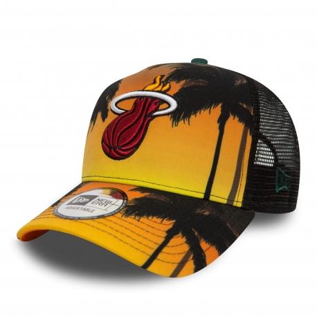 New Era Šiltovka 940 NBA Af Trucker Coastal Heat Trck Miami Heat