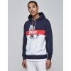 Cayler & Sons White Label Block Trust Hoody Navy/White