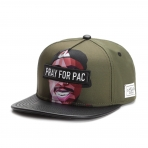 Cayler & Sons Black Label Pacasso Cap Forrest Green/Mc