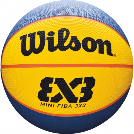 WILSON FIBA 3X3 MINI RUBBER BASKETBALL