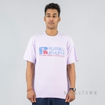 Russell Athletics Heritage Generals Tee Shirt Vintage Lilac