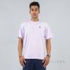 Russell Athletics Heritage Baseliners Tee Shirt Vintage Lilac