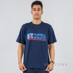 Russell Athletics Heritage Generals Tee Shirt Navy