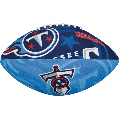 WILSON NFL JR TEAM LOGO FB TN