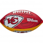 WILSON NFL JR TEAM LOGO FB KC