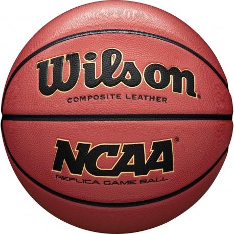 WILSON NCAA BASKETBALL REPLICA GAME BALL - 7