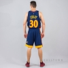 MITCHELL & NESS NBA SWINGMAN SHORTS GOLDEN STATE WARRIORS 2009-10 NAVY/RED