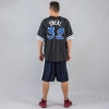MITCHELL & NESS NBA NAME/NUMBER MESH CREWNECK ORLANDO MAGIC / SHAQUILLE O'NEAL BLACK/WHITE