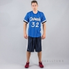 Mitchell & Ness NBA Name/Number Mesh V-Neck Orlando Magic / Shaquille O'Neal Royal/White
