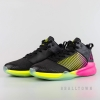 PEAK PRACTICE BASKETBALL SHOES BLACK/FLUORESCENT YELLOW - EW74998A