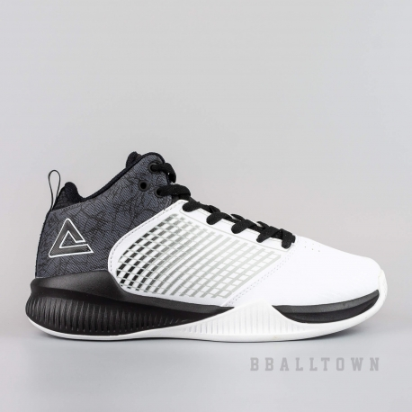 PEAK PRACTICE BASKETBALL SHOES WHITE - EW74998A